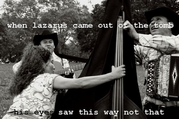 Lazarus by Teju Cole