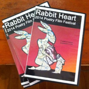 Rabbit Heart Poetry Film Festival 2014 DVD