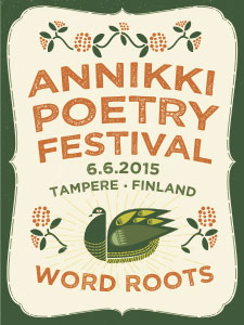 Annikki Poetry Festival flyer