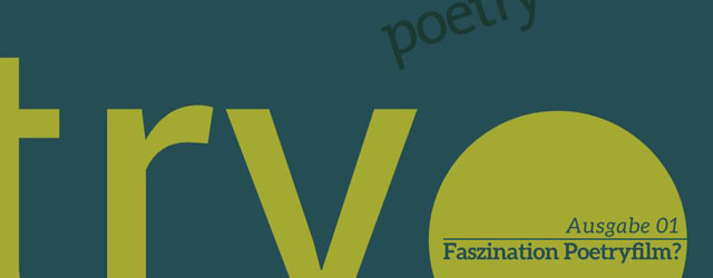 Poetryfilm Magazin Ausgabe 01 (detail of cover)
