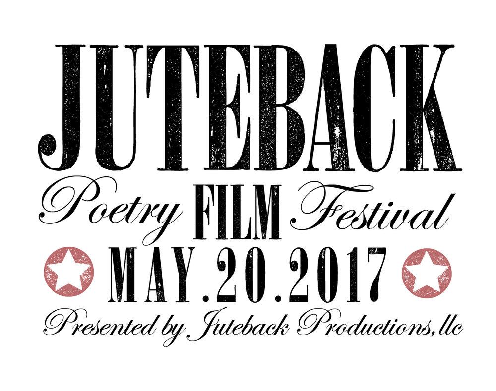 Juteback Poetry Film Festival poster