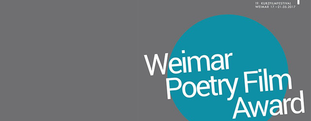 Weimar Poetry Film Award banner