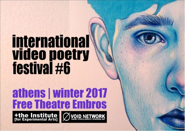 poster for International Video Poetry Festival #6