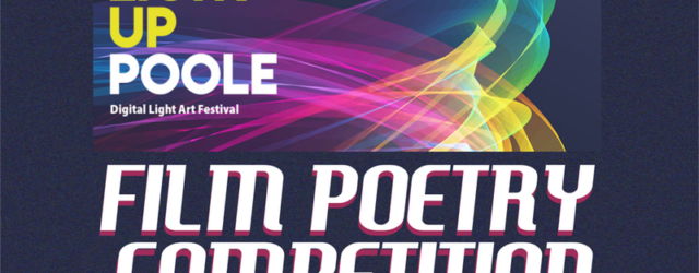 Light Up Poole Film Poetry Competition logo