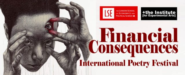 Financial Consequencies London Poetry Festival logo