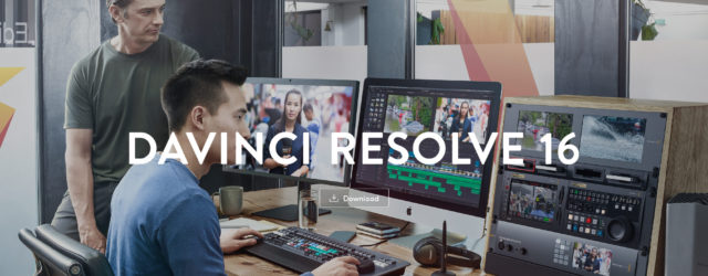 DaVinci Resolve download page screenshot